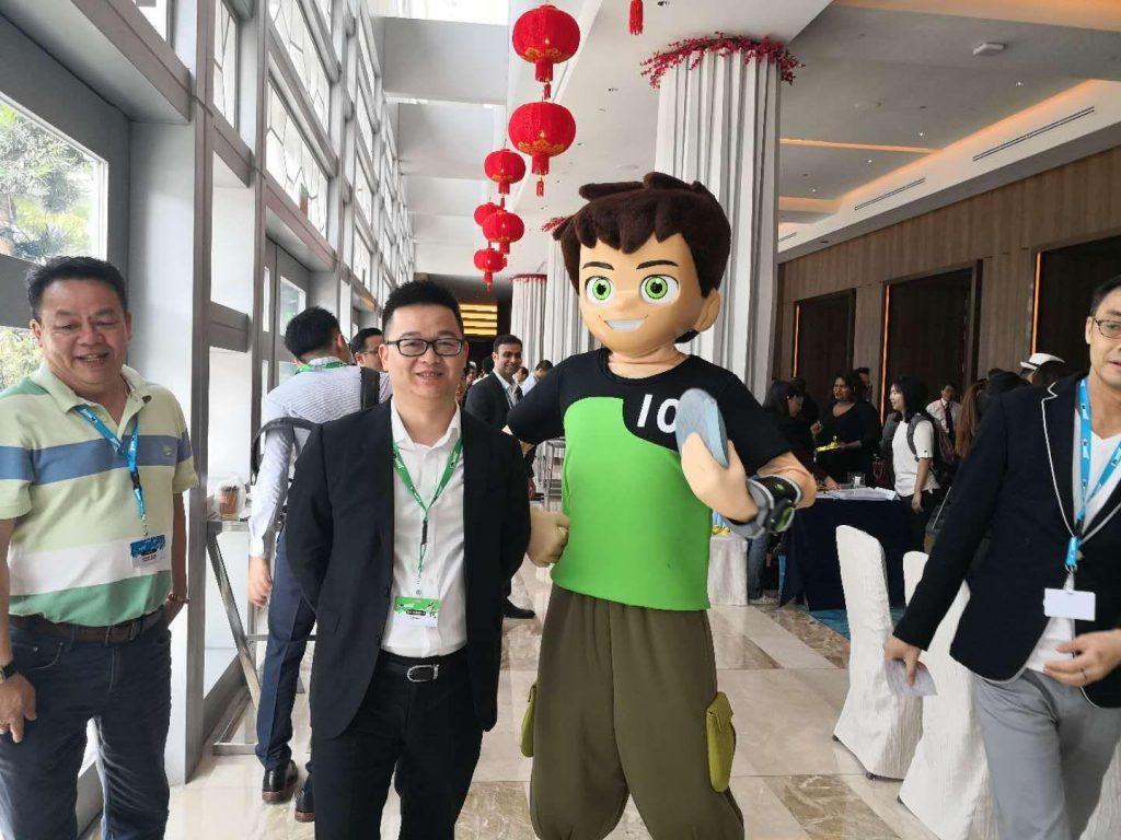 泛网科技范道总经理受海领集团之邀参加卡通主题邮轮(CNWAVE)发布会